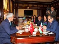 В БГУ побывал глава муниципалитета турецкого Карса