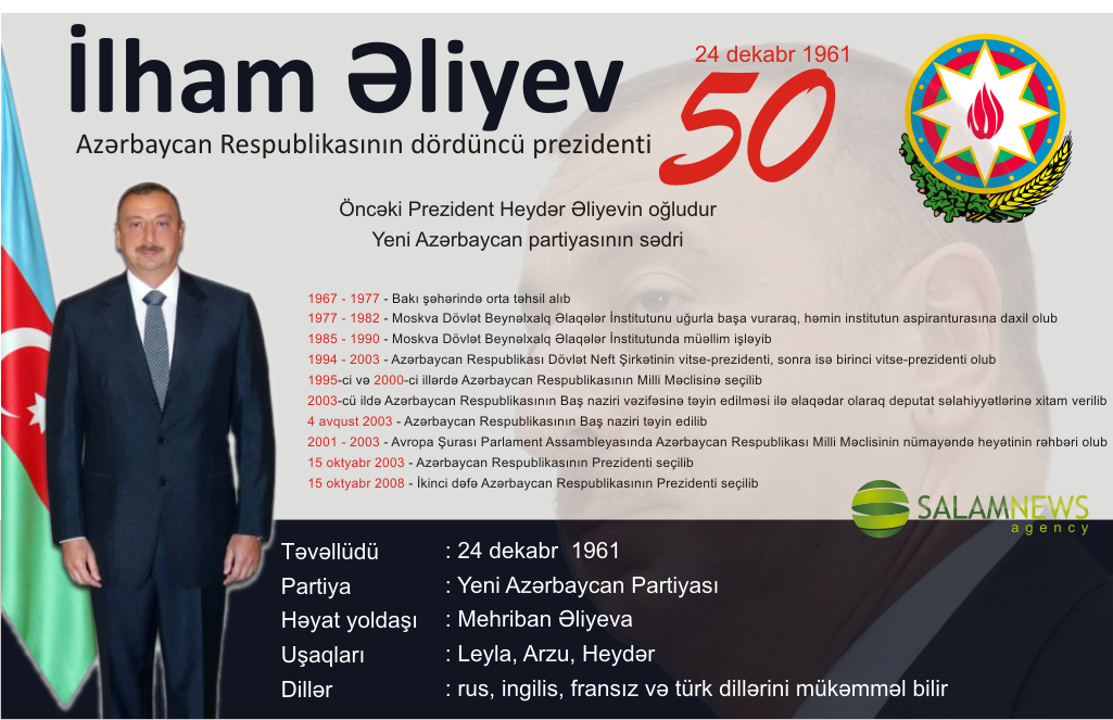 Prezident İlham Əliyev - 50