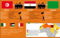 Массовые волнения в арабских странах