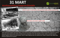31 - Mart Azərbaycanlıların Soyqırımı Günüdür