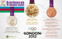 Azərbaycan - 10 olimpiya medalı