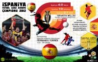 İspaniya - Futbol üzrə Avropa çempionu 2012